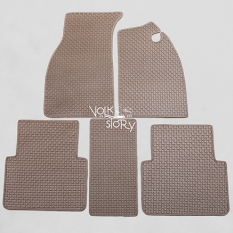 VW  RUBBER FLOOR MATS