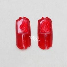 TAIL LIGHT LENS COLOR RED FOR KARMANN GHIA  58 - 59