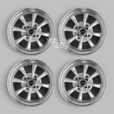 4  x 130 PCD JBW AC8 ALLOY WHEEL IN SILVER