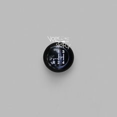 GEAR KNOB BLACK 10 MM WITH GEAR DIAGRAM