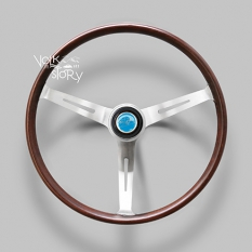 FLAT4 GT WOOD STEERING WHEEL 14""