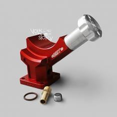 MST Billet Alternator Stand I RED