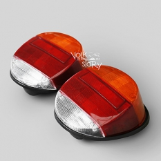 SUPER BEETLE TAIL LIGHT ORANGE RED WHITE