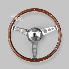 WOOD STEERING WHEEL T25 / T3 WITH BOSS KIT