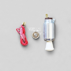 CIGARETTE LIGHTER | IVORY | 12 VOLT