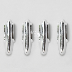 CHROME BUMPER GUARDS FOR SPLIT BEETLE  49-52