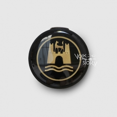 HORN BUTTON | BLACK GOLD
